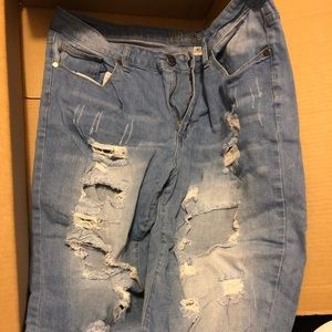 Vip jean long shorts